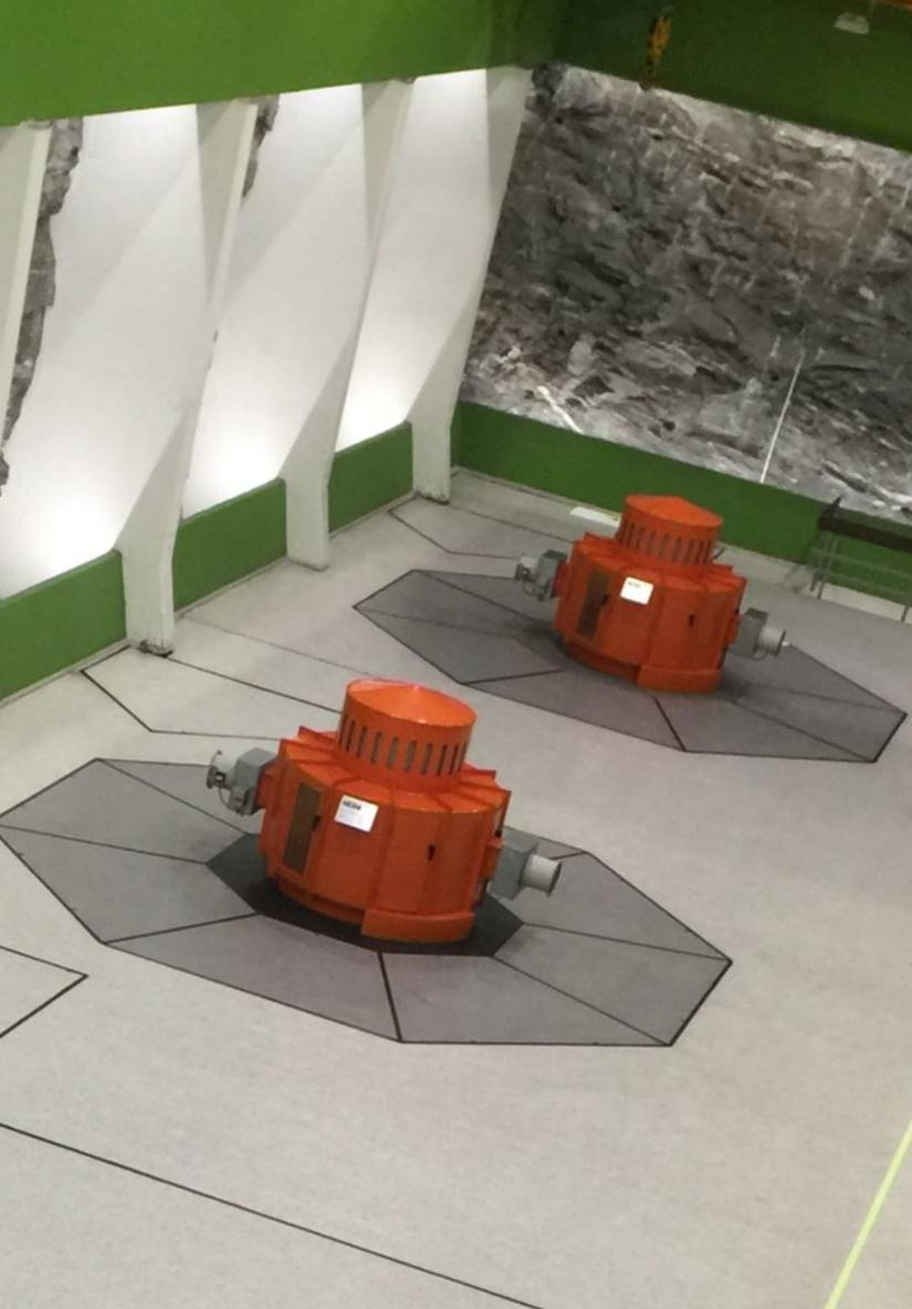 Fagerli kraftstasjon, SKS Produksjon, Sulitjelmaverkene