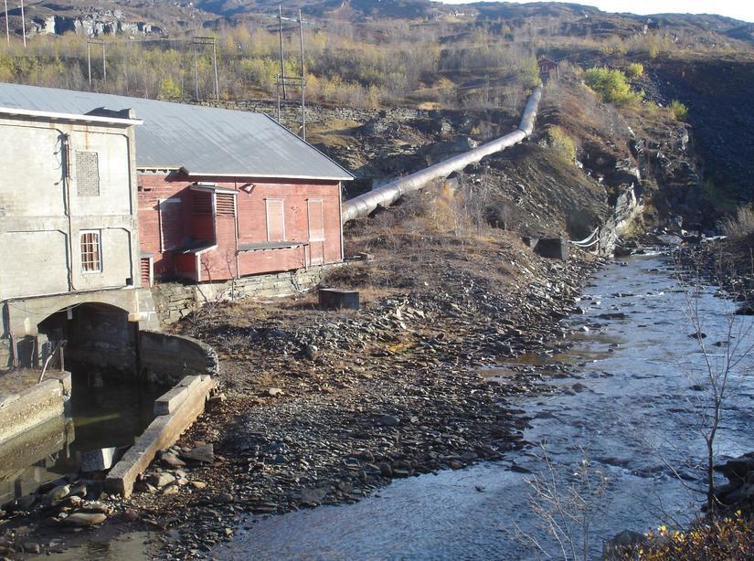 Valffarjohka kraftverk