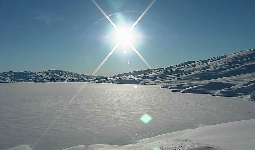 Lomivatn, mars 2019
